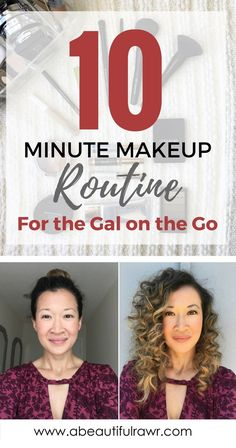 quick 10 Minute Makeup Routine, drugstore makeup, everyday makeup look for busy mom, affordable makeup products
