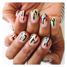 Cubacation nails for my girl @thekendralarkin  | inspired by @nailsalonavarice