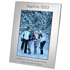 Engraved Silver Plated Photo Frame - 7x5  from Personalised Gifts Shop - ONLY £17.95