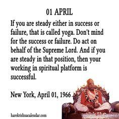 Srila Prabhupada's Quotes In April Goal Quotes, New Quotes, Daily Quotes, Life Quotes, Inspirational Quotes, Motivation Success, Fitness Motivation Quotes, Krishna Love, Hare Krishna