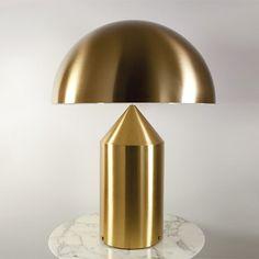 Atollo Magistretti lampe laiton oluce  #Atollo #Magistretti #lampe laiton #oluce #lamp