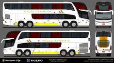 Onibus Marcopolo, Buses, Design Art, City, Paper, Classic Cars, Paper Envelopes, Marvel Art, Busses