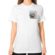 New Mexico Yucca Plant Unisex T-Shirt (on woman)