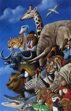 "Rafal Olbinski (b. 1943) ""new York Earth Day Ii"", 2007;"