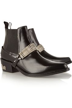 TOGA Pulla embellished leather ankle boots