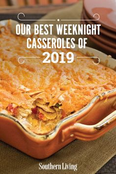 Home Made Doggy Foodstuff FAQ's And Ideas Our Best Weeknight Casseroles Of 2019 Get A Head Start On Meal Planning By Saving These Easy Casserole Recipes For Busy Weeknights. Dinner Casserole Recipes, Vegetarian Casserole, Healthy Casserole Recipes, Casserole Dishes, Chicken Casserole, Vegetarian Recipes, Best Casseroles, Head Start, Food Dishes
