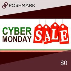 CYBER MONDAY DEAL! Cyber Monday! Adding more stuff later! Happy shopping :) Other