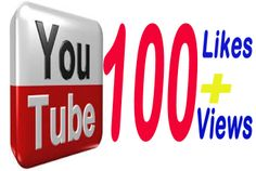 I will give you 100 Youtube Likes and 100 Youtube Views for $5