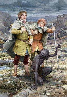 Tolkien Hobbit, Lotr, The Hobbit, High Fantasy, Fantasy World, Character Art, Character Design, The Two Towers, Fantasy Warrior