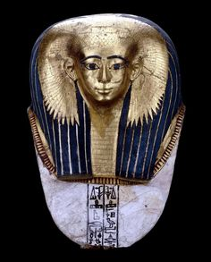 Mask of high ranking woman Satdjehuty.