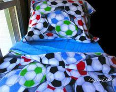 Flower Nursery Bedding Girls Fleece Bed Set 'Pink by LazyBugFleece
