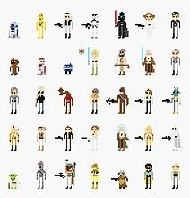 Insane 8-Bit Character Compilation From Our Favorite Cult Movies