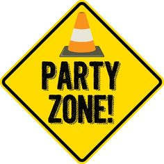 Construction birthday party poster sign PRINTED – dig in, party zone, refuel here, gift loading zone Construction birthday party poster. Construction Party Decorations, Construction Signs, Construction Birthday Parties, Cars Birthday Parties, Birthday Banners, Birthday Invitations, Anniversaire Hotwheels, Festa Hot Wheels, Transportation Birthday