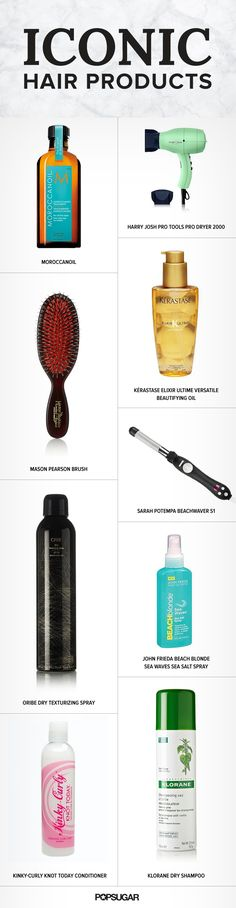 These 12 hair must haves should be on every woman's shopping list.