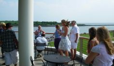 Imagine sipping cool drinks and sampling savory hors d'oeuvres with the Bay as the backdrop! Cape May Ferry, Cape May Beach, Delaware Bay, Romantic Proposal, Wedding Cape, Waterfront Wedding, Anniversary Parties, Rehearsal Dinners, Beautiful Sunset