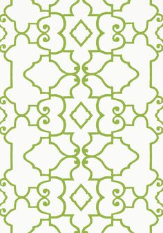 OGDEN, Green, T14252, Collection Imperial Garden from Thibaut