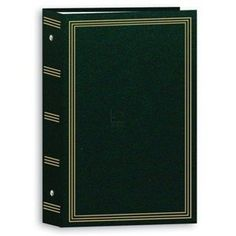 "3-ring pocket HUNTER-GREEN album for 500 photos - 4x6 by Pioneer Photo Albums. $15.04. 4x6. photo albums: Our binder style album is specially made for storing a large number of photos. Comes ready to store and display 504 of your 4""x6"" prints. Your 4""x6"" prints are neatly arranged in 100 acid free pockets. When open you see ""6-photos-at-a-time"". See Item views for an Open view. Customers tell us that they enjoy this huge but easy storage system. Album is crafted of heavy-duty..."
