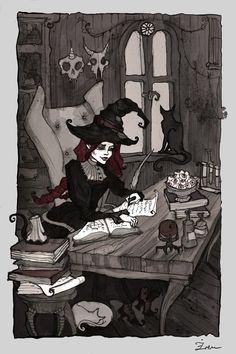 Little Witch by IrenHorrors.deviantart.com on @deviantART