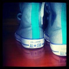 My new converse (/,\)