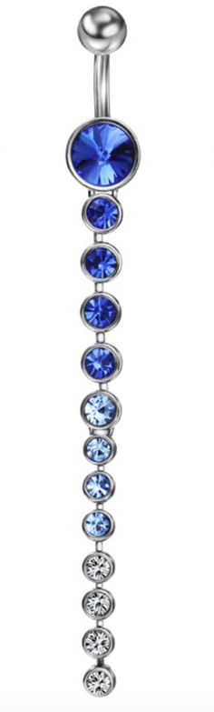 Sexy Rhinestone Belly Button Navel Ring
