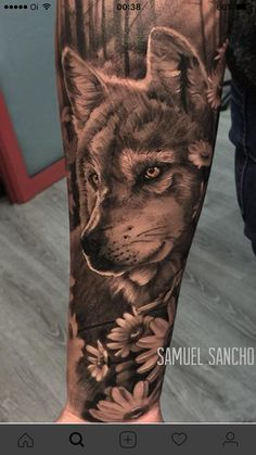 Wolf - Wolf tattoos - Tattoo Designs For Women Wolf Tattoo Design, Tribal Tattoo Designs, Tattoo Designs For Women, Tribal Tattoos, Sister Tattoos, Dog Tattoos, Cute Tattoos, Body Art Tattoos, Tatoos