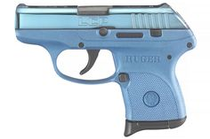 RUGER LCP 380 ACP W/ BLUE COLOR CASED SLIDE Find our speedloader now! http://www.amazon.com/shops/raeind