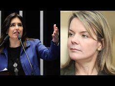 Senadora Simone Tebet desmascara petistas defensores de Dilma na Comissã...