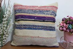 Wool Pillows, Kilim Cushions, Kilim Rugs, Bed Pillows, Handmade Pillows, Decorative Pillows, Couch Design, Boho Decor, Pillow Covers