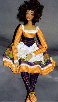 Cloth Doll Patterns by Patti Culea