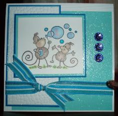 Changito Bubbles by Min - Cards and Paper Crafts at Splitcoaststampers. Y