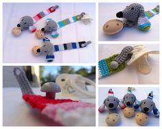 14 Beste Afbeeldingen Van Baby Speenkoorden Gehaakt Crochet For