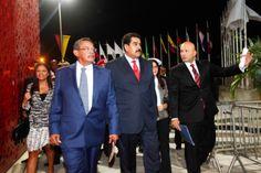 Inauguración de los III #JuegosSuramericanosDePlaya #Vargas2014. (foto: AVN)
