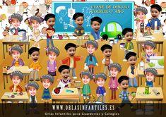 Orlas Colegios Infantiles  PelautsCom Orla Infantil, Orlando, Yearbook Class, Christmas Photos, Organization Hacks, Classroom Management, Puppets, Photo Book, Graduation