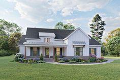 Modern Farmhouse Plan: 2,103 Square Feet, 3-4 Bedrooms, 2 Bathrooms - 009-00293