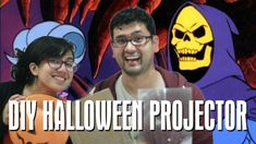 Mia and Omar get ready for Halloween by teaching you how to make a spooky Halloween projector out of a cardboard box! Halloween Light Show, Diy Halloween, Halloween Projector, 2 Broke, Diy Cardboard, Holidays And Events, Geeks, Geek Stuff, Geek Things