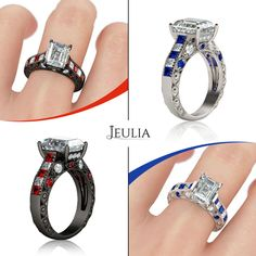 Ruby Or Sapphire? Will you select one from them? #jeulia