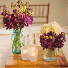 This stunning Arizona wedding has it all!  Including gorgeous purple succulents!  White Haute Photography