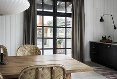 Villa AK, Hamra, Gotland – M.Arkitektur Summer Cabins, Living Area, Living Room, Colorful Curtains, My Happy Place, Decoration, Villa, New Homes, Interior Design