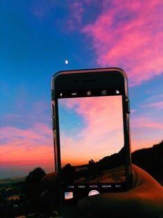 Imagem de sky, sunset, and photography Sky Aesthetic, Summer Aesthetic, Photo Ciel, Pretty Sky, Beautiful Sky, Beautiful Things, Laura Lee, Aesthetic Pictures, Belle Photo