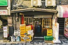 A back street bar, Shinjuku | Le tilt-shift n'est plus nouveau: il y a désormais des applications et des filtres sur les smartp...