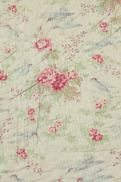 LOVE this fabric - Roses - Vintage Home
