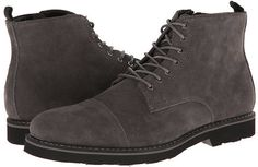 $44, Charcoal Suede Boots: GBX 13474. Sold by 6pm.com. Click for more info: https://lookastic.com/men/shop_items/193066/redirect
