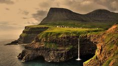 The Faroe Islands are an island group situated between the Norwegian Sea and the North Atlantic Ocean, approximately halfway between Scotland and Iceland. Description from socialphy.com. I searched for this on bing.com/images