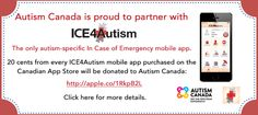 ICE4Autism . ICE4Autism is the ONLY autism-specific 'In Case of Emergency' mobile app. It conveniently and intuitively stores vital information about an autistic person's unique needs, sensitivitie…
