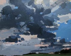 Storm Over Little House Original Landscape Painting on by Paintbox