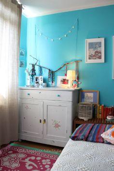 É esse azul turquesa que quero!