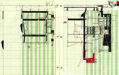 Greensheet Drawing no. 031111 – 052012.006, 2010. Ink on ledger book paper | Not Safe For Work | Bryan Cantley via the draftery