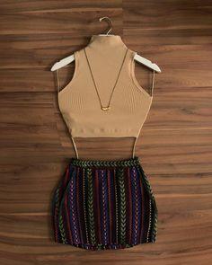 Que tal? -> Cropped Mariana e short saia Antônia ♥️🔥 | Compre pelo site: www.madamelolla.com ou WhatsApp: 011 946400140 (link na bio) ✔️✔️