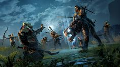 Middle-earth: Shadow of Mordor New Trailer, Cast & Composer, Taps Troy Baker & Nolan North