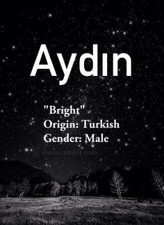 Baby boy name: Aydın Meaning: Bright Origin: Turkish The post Baby boy name: Aydın Meaning: Bright Origin: Tu… appeared first on Woman Casual - Life Quotes Trendy Baby Boy Names, Cute Baby Names, Pretty Names, Unique Baby Names, Baby Girl Names, Kid Names, Arabic Names Boys, Meaningful Baby Names, Unusual Words